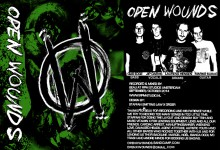 Open Wounds - Demo tape
