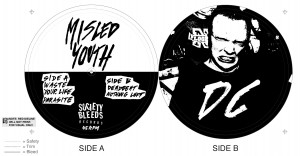 misled youth labels flattened