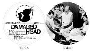 damaged head labels adult crash no red